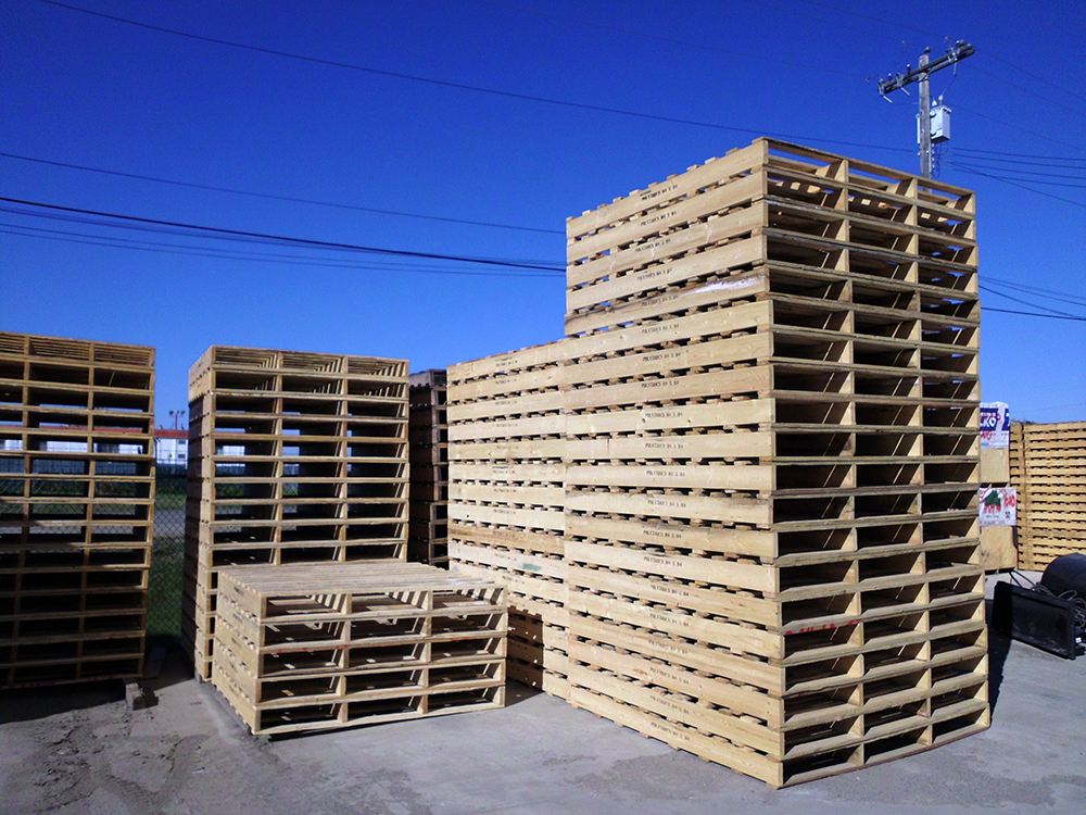 Custom Pallet Manufacturing